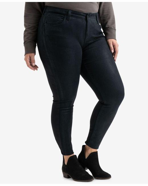 07d3e7798988f ... Lucky Brand - Black Trendy Plus Size Ginger Skinny Jeans - Lyst