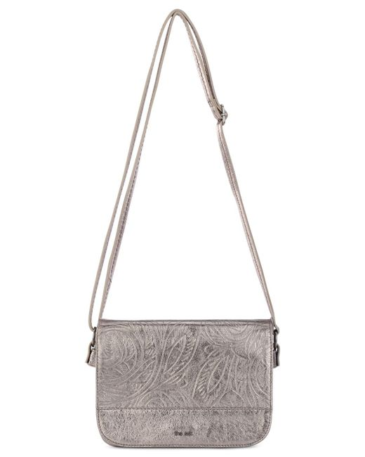 The Sak - Multicolor Silverlake Patchwork City Leather Crossbody, Created For Macy's - Lyst