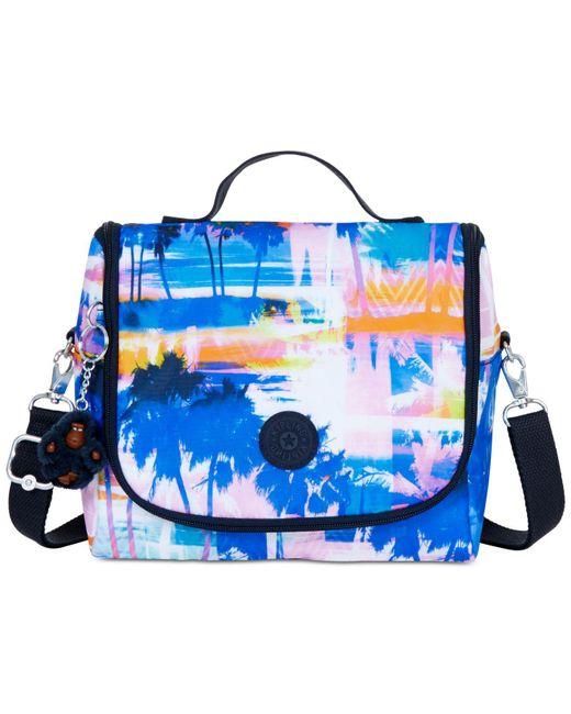 Kipling - Blue Kichirou Printed Lunch Bag - Lyst
