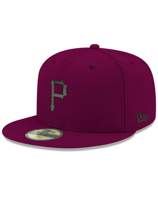 KTZ - Purple Pittsburgh Pirates Reverse C-dub 59fifty Fitted Cap for Men -  Lyst ... a259febaef1b