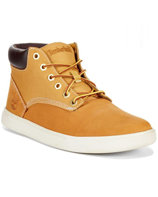 Timberland - Natural Earthkeepers Groveton Hi-top Sneakers for Men - Lyst