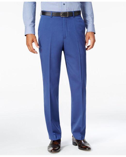 Sean John - Men's Classic-fit New Blue Suit Pants for Men - Lyst