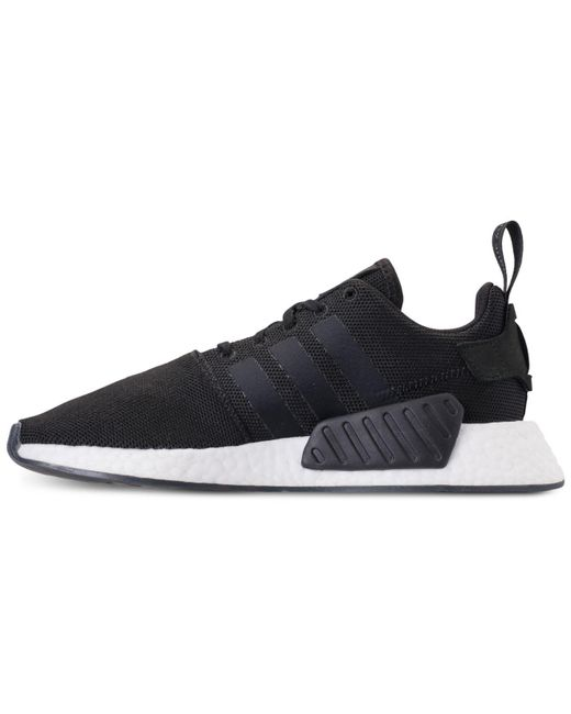 4f1217992 ... Adidas - Black Nmd R2 Casual Sneakers From Finish Line for Men - Lyst  ...