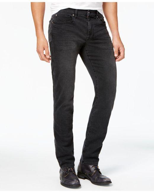 Joe's Jeans | Men's Brixton Slim-fit Overdyed Black Jeans for Men | Lyst