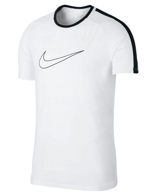 Nike - White Dry Academy Soccer Shirt for Men - Lyst