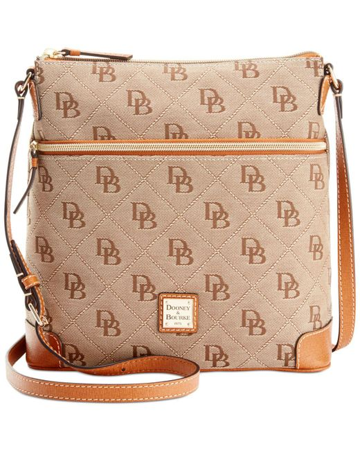 Dooney & Bourke | Natural Maxi Quilt Americana Signature Crossbody | Lyst