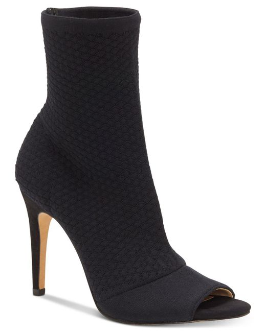INC International Concepts | Black Women's Rielee Sock Ankle Booties | Lyst