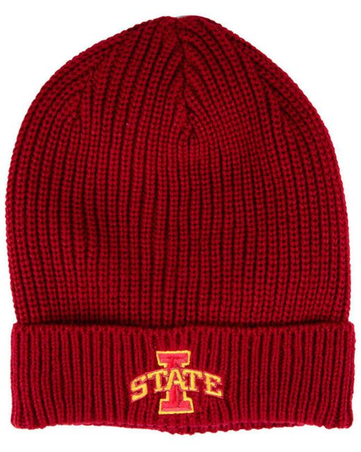 Nike - Red Iowa State Cyclones Cuffed Knit Hat for Men - Lyst