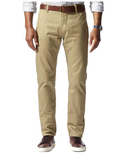 Dockers - Natural Slim-fit Alpha Khaki Pants for Men - Lyst