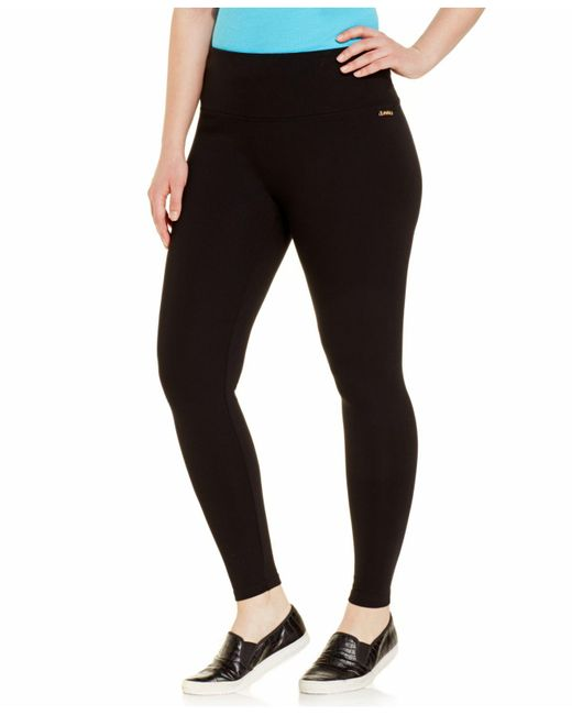 Calvin Klein | Black Plus Size Skinny Active Pants | Lyst
