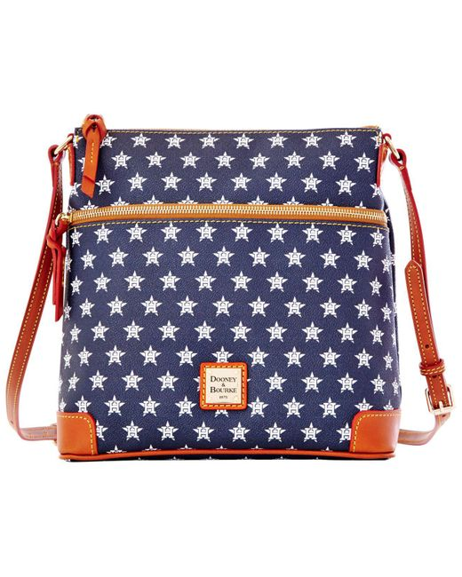 Dooney & Bourke - Blue Nfl Broncos Crossbody - Lyst
