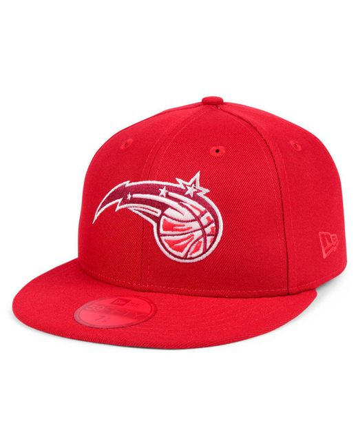 sports shoes fb7f6 022ab ... get ktz red orlando magic color prism pack 59fifty fitted cap for men  lyst 96903 03127