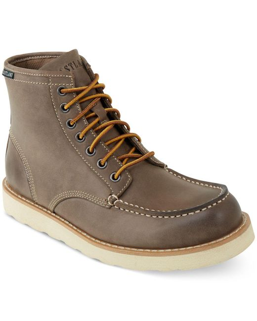Eastland - Gray Lumber Up Boots for Men - Lyst