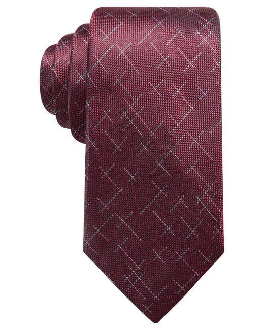 Alfani | Purple Men's Reed Dash Silk Tie, Created For Macy's for Men | Lyst