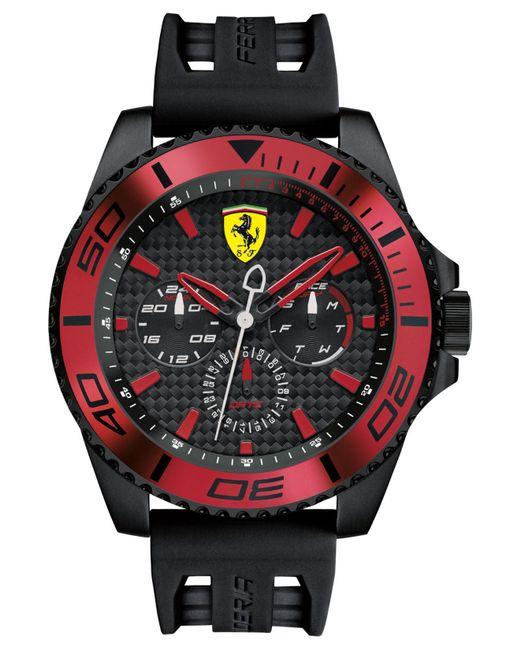 Ferrari - Men's Xx Kers Black Silicone Strap Watch 50mm 0830310 for Men - Lyst