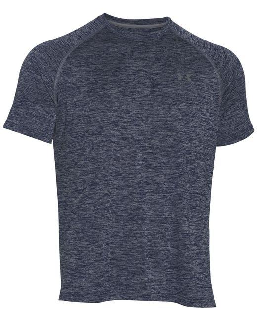 Under Armour   White Tech Short Sleeve T-shirt for Men   Lyst