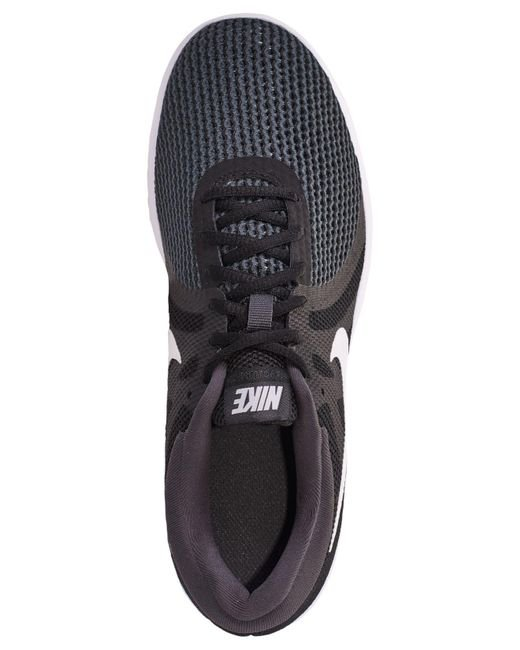 24cd05128d0e ... Nike - Black Revolution 4 Wide Width Running Sneakers From Finish Line  - Lyst ...