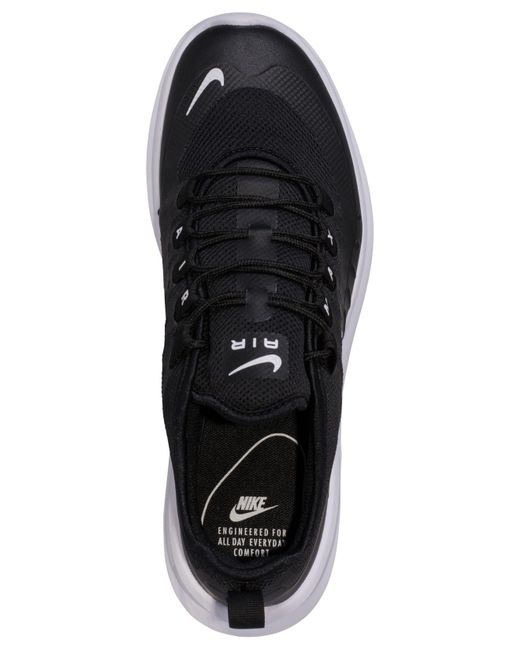 best website ef017 e1fdc ... Nike - Black Air Max Axis Casual Sneakers From Finish Line for Men -  Lyst ...