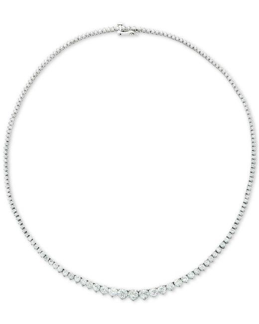 """Macy's - Metallic Diamond Fancy 17"""" Collar Necklace (15 Ct. T.w.) In 14k Gold - Lyst"""
