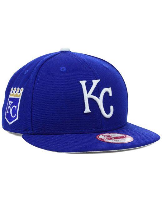 2032555fa72 KTZ - Blue Kansas City Royals Mlb 2 Tone Link 9fifty Snapback Cap for Men  ...
