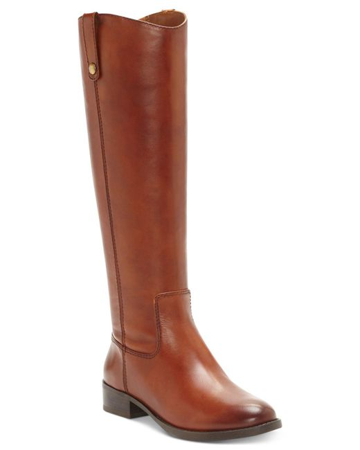 INC International Concepts | Brown Women's Fawne Wide-calf Riding Boots | Lyst