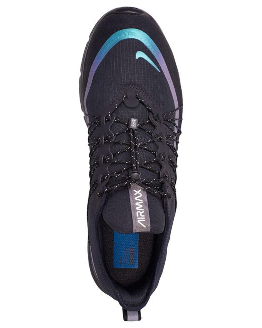 4bf5ce4a7a9f97 ... Nike - Black Air Max Sequent 4 Shield Running Sneakers From Finish Line for  Men ...