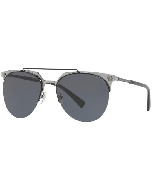 Versace - Gray Sunglasses, Ve2181 57 for Men - Lyst