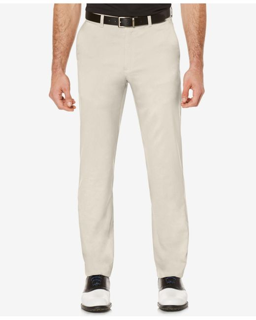 PGA TOUR - Multicolor Men's Woven Flat-front Golf Pants for Men - Lyst