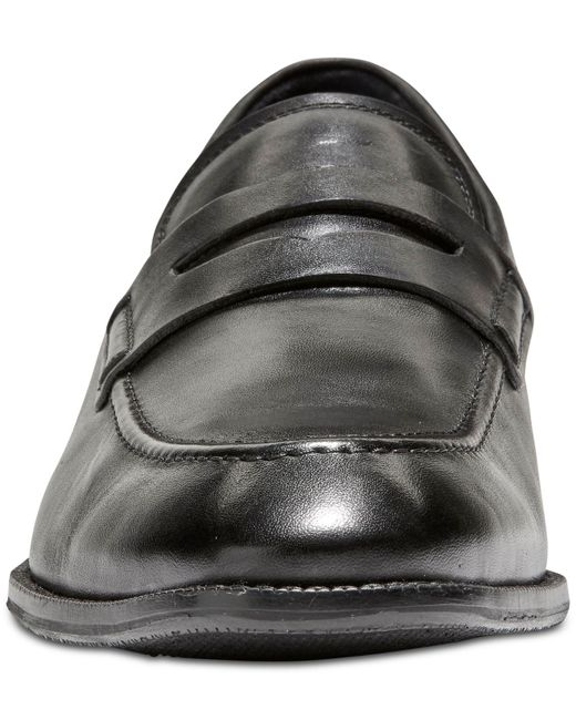 6d8441eee19 ... Cole Haan - Black Warner Grand Penny Loafers for Men - Lyst