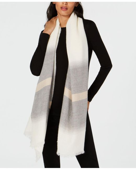 Eileen Fisher - Multicolor Striped Scarf - Lyst