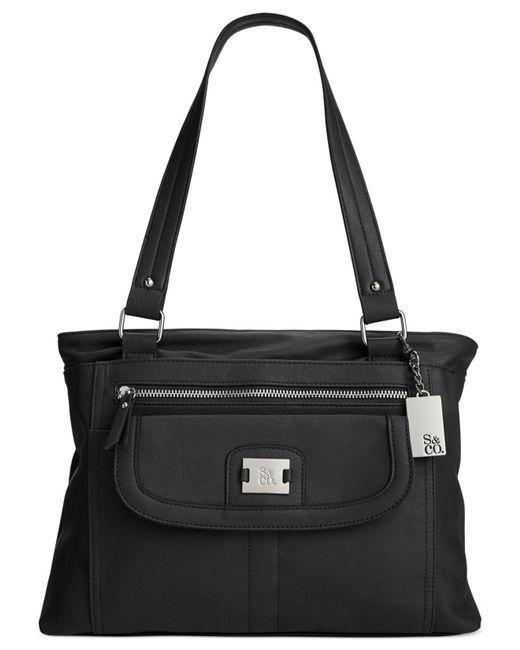 Style & Co. | Black Yassimen Satchel | Lyst