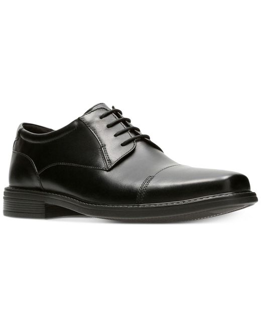 Bostonian | Men's Wenham Black Leather Dress Cap-toe Oxfords for Men | Lyst