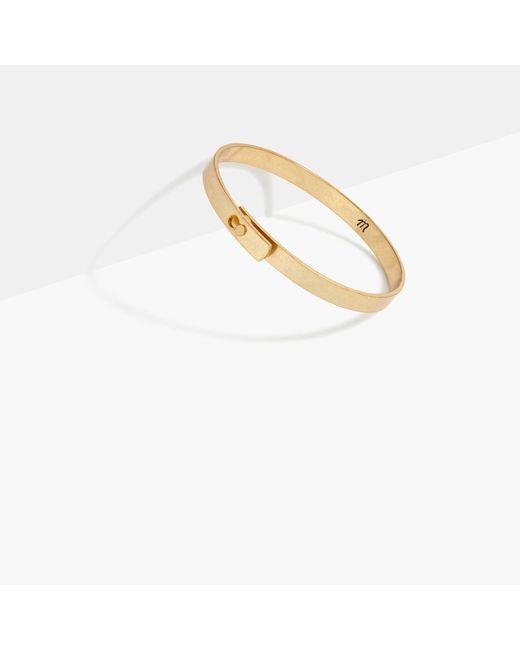 Madewell | Metallic Glider Bangle Bracelet | Lyst