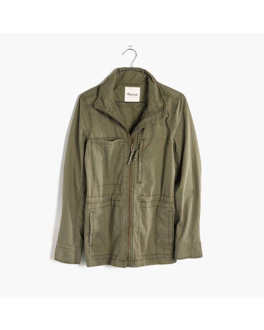 Madewell - Green Fleet Jacket - Lyst