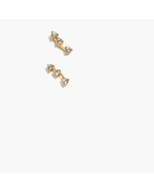Madewell | Metallic Gemline Studs | Lyst
