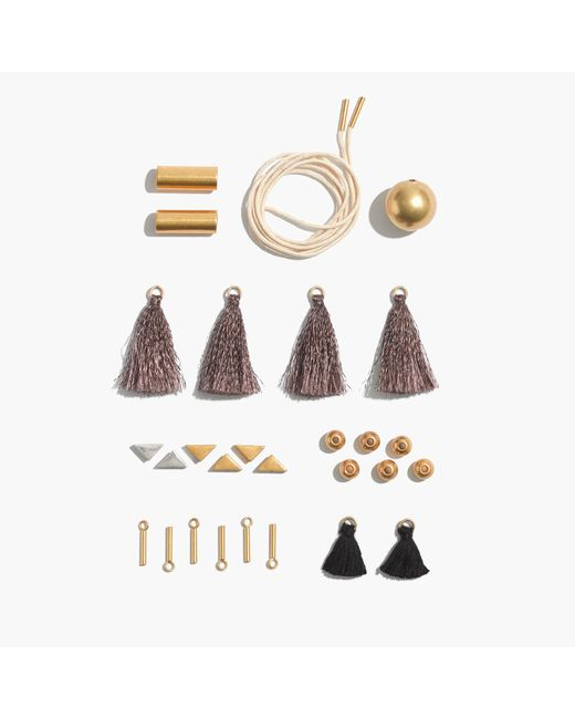 Madewell | Metallic Do-it-yourself Necklace Kit | Lyst