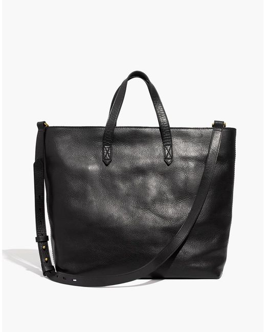 Madewell - Black The Zip-top Transport Tote - Lyst
