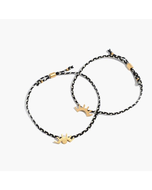 Madewell - Multicolor Two-pack Friendship Bracelets - Lyst