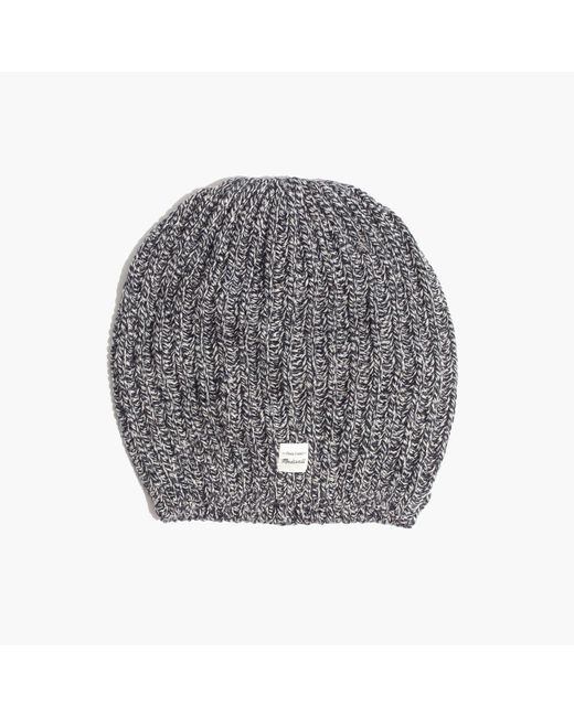 Madewell   Gray Softest Ribbed Beanie   Lyst