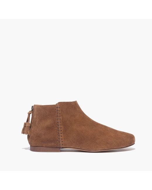 Madewell | Brown The Rory Moccasin Boot | Lyst