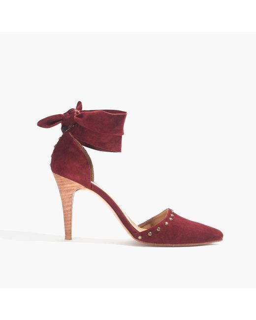 Madewell | Red Ulla Johnsontm Sienna Heels | Lyst