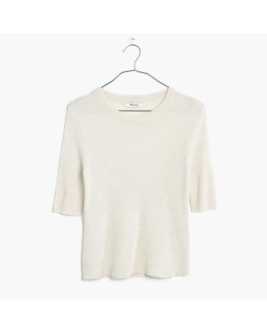 Madewell | Multicolor Ribbed Sweater Top | Lyst