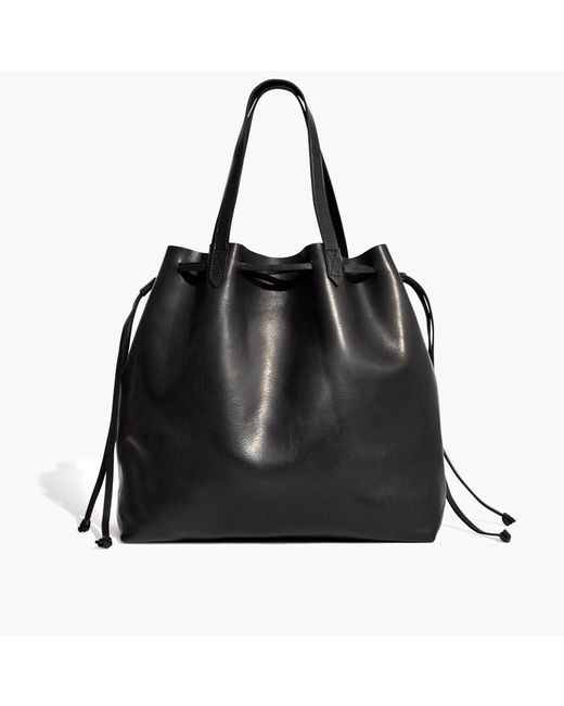 Madewell - Black The Drawstring Transport Tote - Lyst