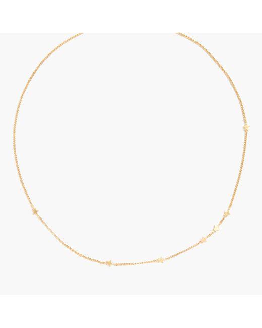Madewell - Metallic Tiny Star Necklace - Lyst