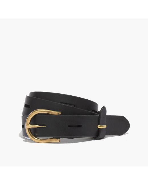 Madewell | Black Backcountry Belt | Lyst