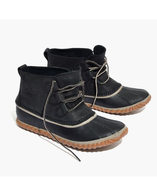 Madewell | Black Sorel® Out And About Boots | Lyst