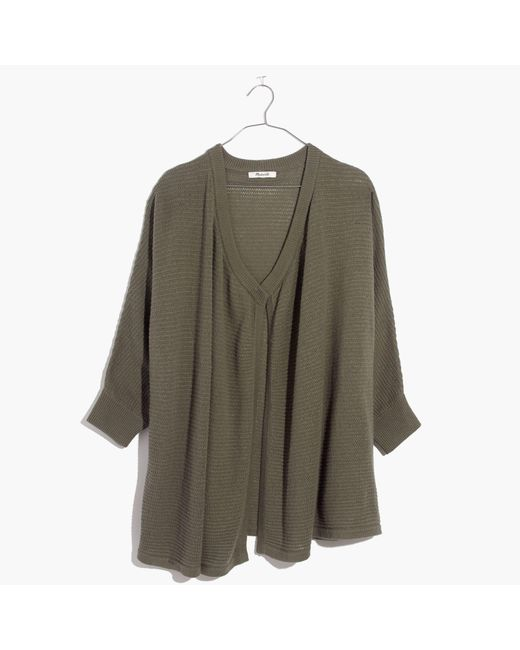 Madewell | Green Seabank Cardigan Sweater | Lyst