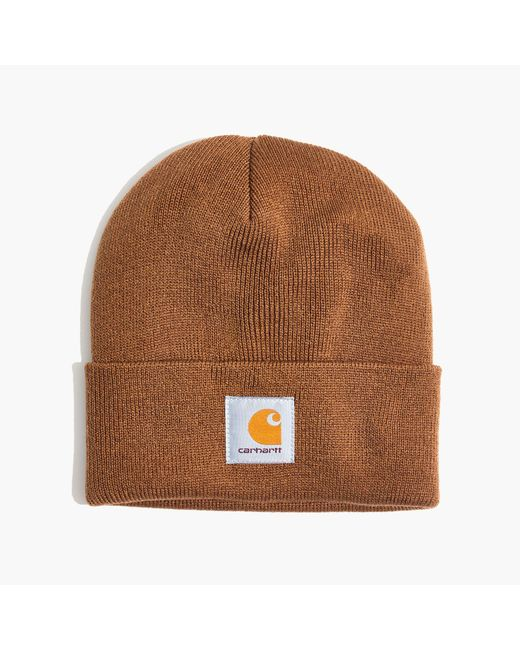 Madewell | Brown Carhartt® Work In Progress Short Watch Hat | Lyst
