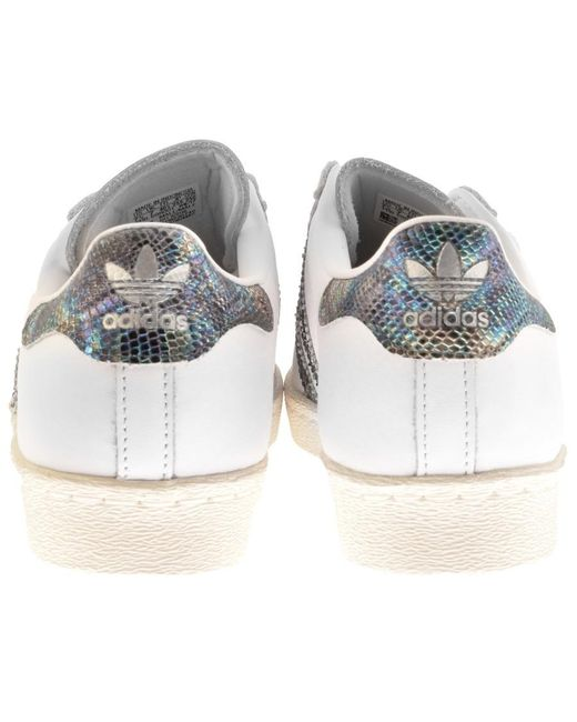 low priced be40b 78146 ... Adidas - Originals Superstar 80s Trainers White for Men - Lyst ...