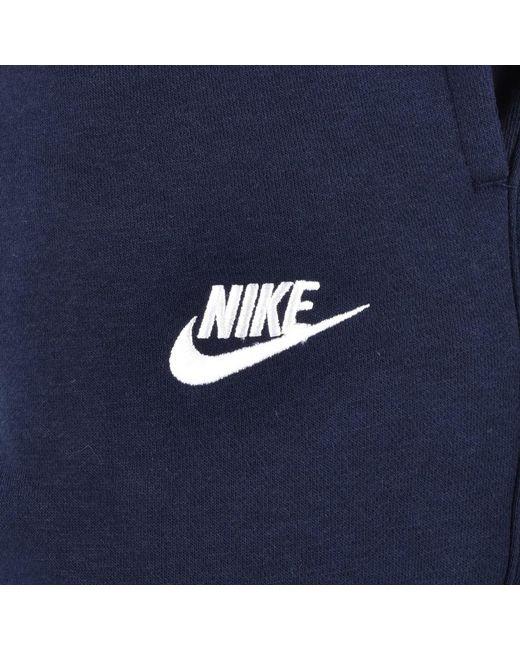 ce3ce0d364cc ... Nike - Blue Club Jogging Bottoms Navy for Men - Lyst